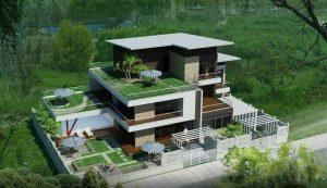 mẫu thiết kế biệt thự đẹp ở Hải Phòng